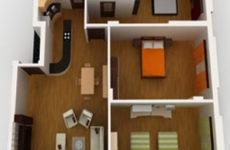 Примеры перепланировки двухкомнатной квартиры: что можно, а что запрещено