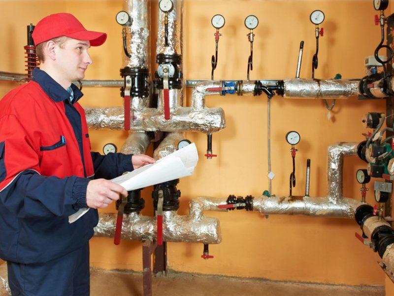 Обслуживание инженерных систем