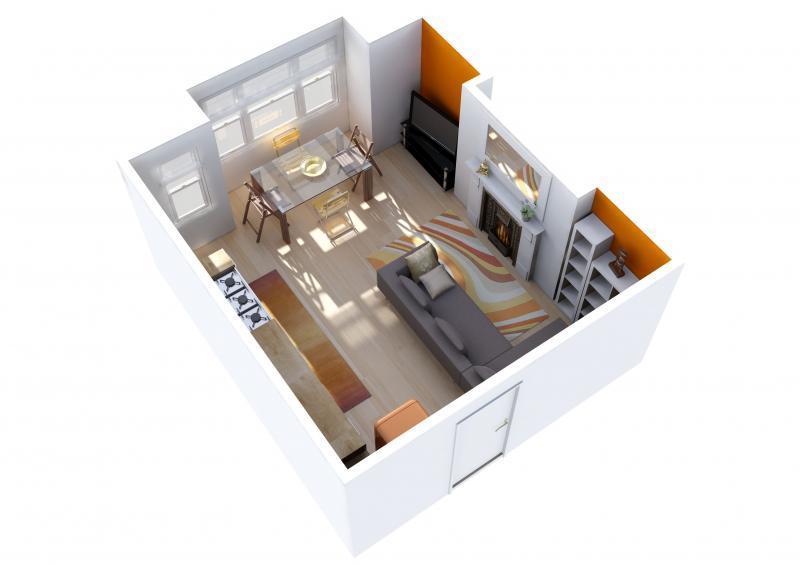 Квартиры-студии на рынке