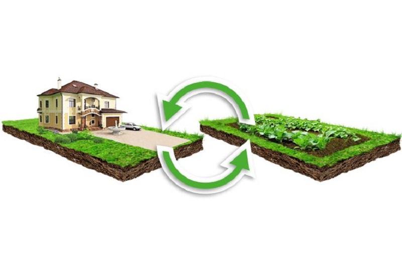 Распространенной причиной смены ВРИ является желание построить жилой дом на сельхозземлях