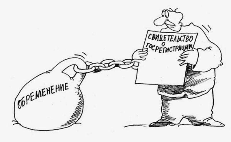 Обременение, наложенное на объект недвижимости, не дает возможности совершать определенные операции по отчуждению права собственности