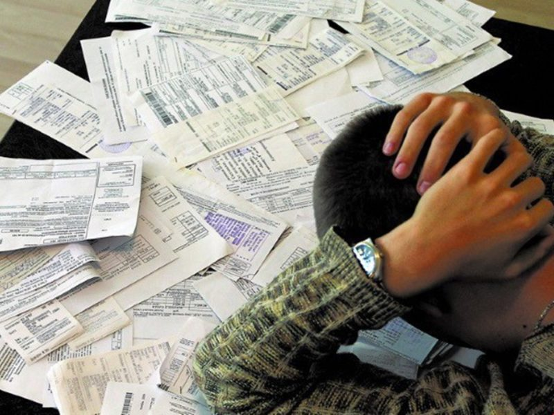 В РФ частым являнием является реализация квартир с долгом по ЖКХ